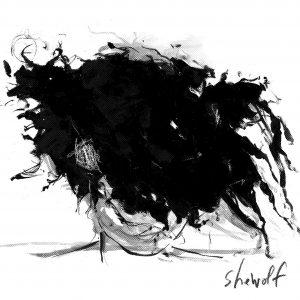 SheWolf T-Shirt drawing